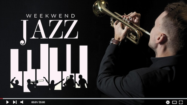 Jazz musik youtube thumbnail