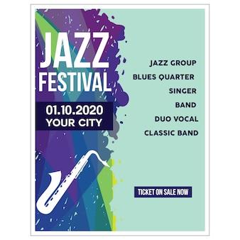 Jazz-poster-illustration