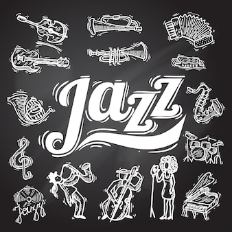 Jazz-tafel-set