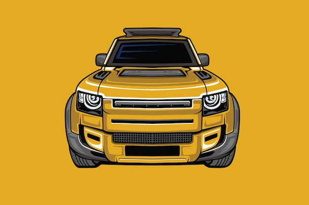 Jeep auto illustration