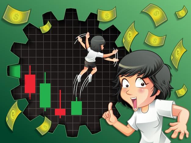 Jemand wünscht sich einen turnaround-bestand für bullische aktien.