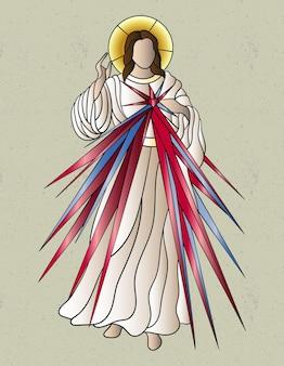 Jesus christus mosaik