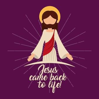 Jesus-katholizismus-religionskarte