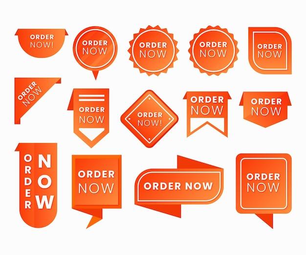 Jetzt bestellen - etikettensammlung