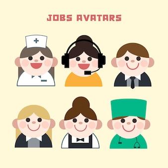 Jobs avatar eingestellt