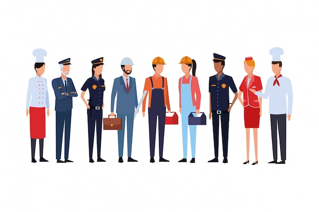 Jobs und berufe avatar