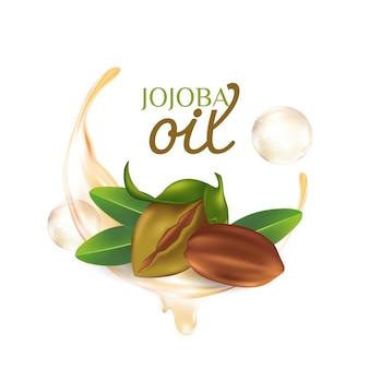 Jojoba naturkosmetik für die hautpflege