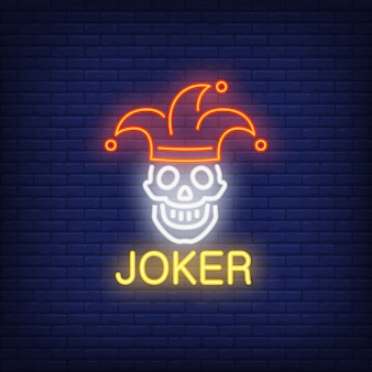 Joker leuchtreklame