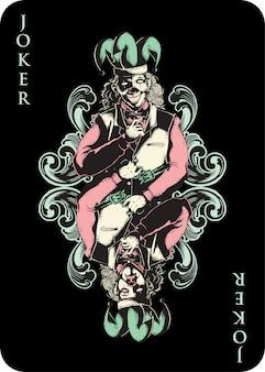 Joker-spielkarte