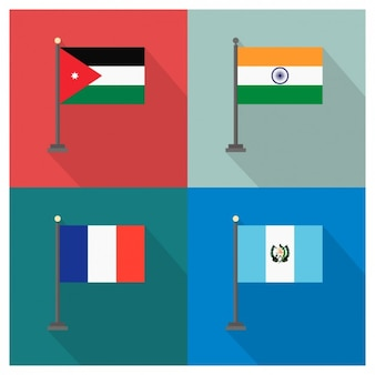 Jordanien Indien Guatemala