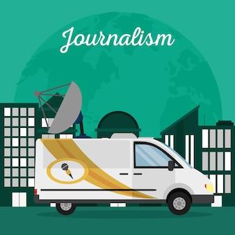 Journalismus auf der ganzen welt