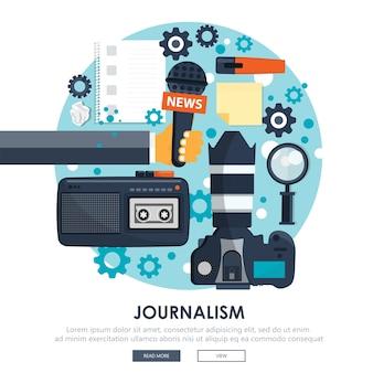 Journalismus-symbol