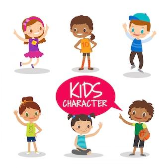 Jugendlich kinderzeichentrickfilm-figuren
