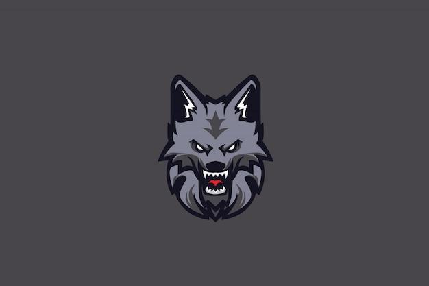 Jugendlich wolf e sports logo