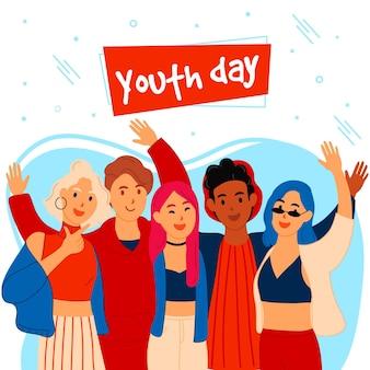 Jugendtag mit jugendlichen