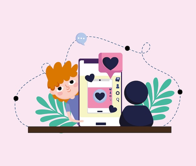 Junge mobile chat liebe romantisch
