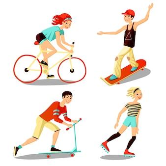 Junge reiter mini set