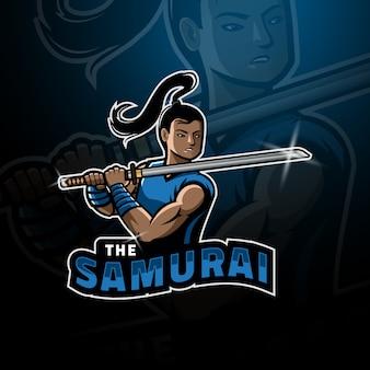 Junges samurai-esport-logo