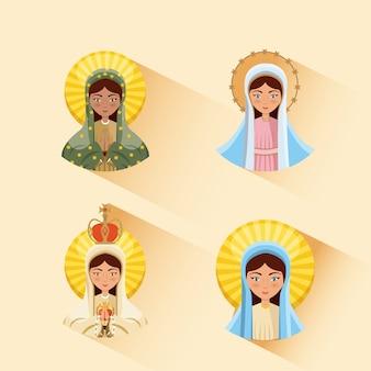 Jungfrau maria symbol