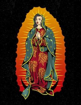 Jungfrau von guadalupe art