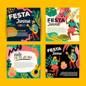 Juni festival kartensammlung vorlage