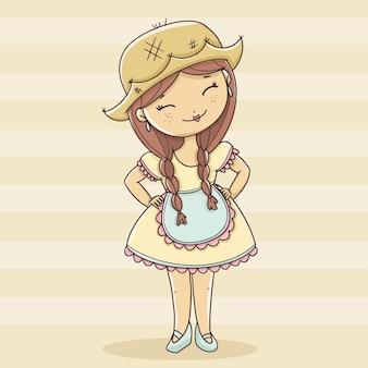 Junina partygirl