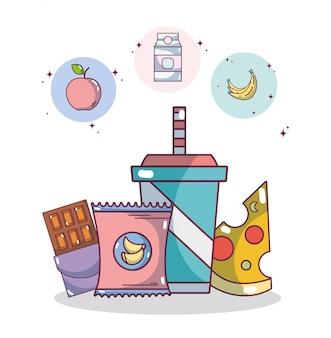 Junk food und snacks