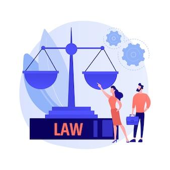 Juristischer experte. rechtserziehung, gerechtigkeit und gleichheit, professionelle prozessführung. rechtsanwalt, rechtsberater beratung zu strittigen fragen.