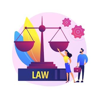 Juristischer experte. rechtserziehung, gerechtigkeit und gleichheit, professionelle prozessführung. rechtsanwalt, rechtsberater beratung zu strittigen fragen