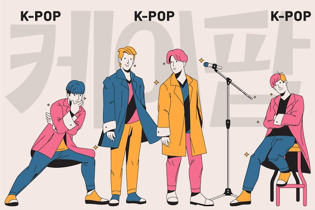 K-pop boy group