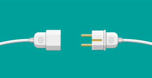 Kabelstecker und buchse.