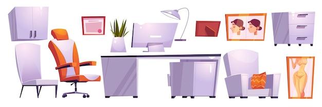 Kabinett für plastische chirurgen, raum für schönheitsoperationen im krankenhaus oder in der klinik.