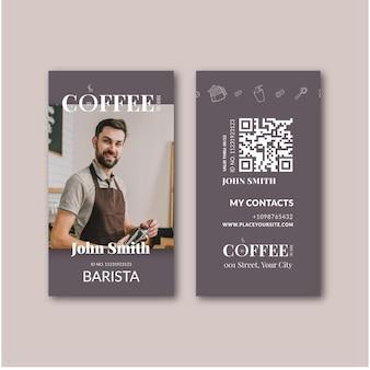 Kaffee id karte vorlage