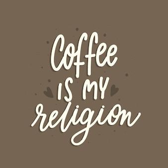 Kaffee ist meine religion