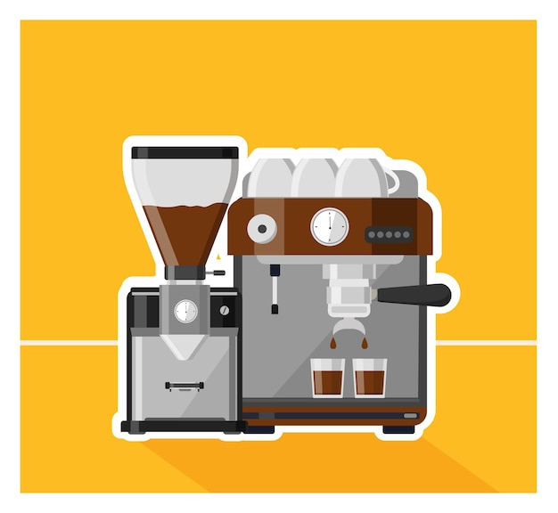 Kaffee, kaffee design illustration