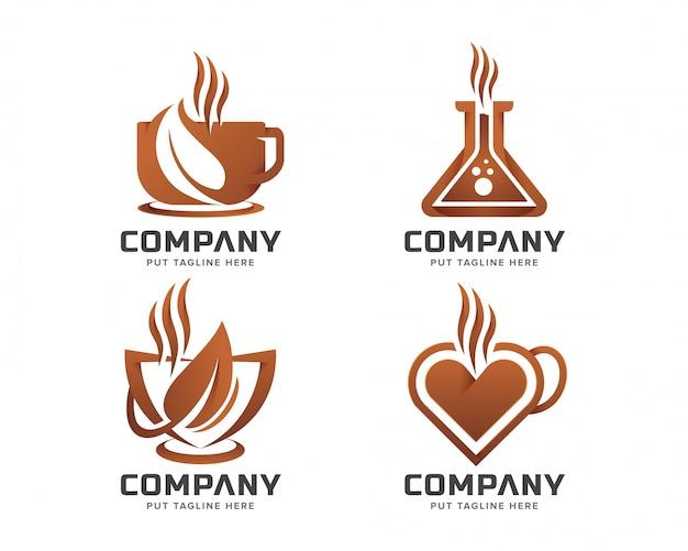 Kaffee-logo für unternehmen
