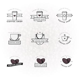 Kaffee-logo-kollektion