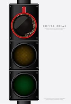 Kaffee-plakat-anzeigen-flayers-vektor-illustration