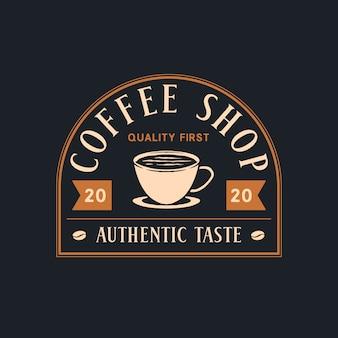 Kaffee-shop-abzeichen