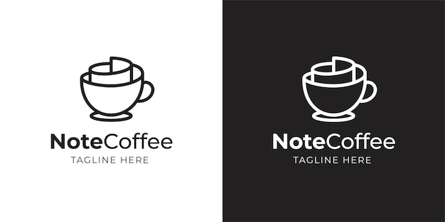 Kaffee und notizen design inspiration