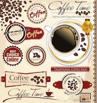 Kaffee und tee design
