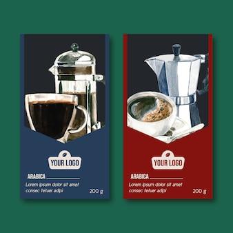 Kaffee-verpackung
