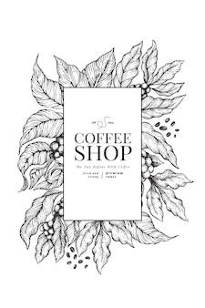 Kaffee-vorlage.