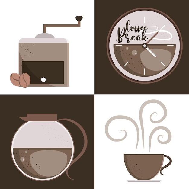 Kaffeegetränke-designs