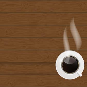 Kaffeehausmenüschablonenvektorillustration