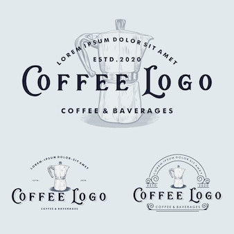 Kaffeelogo - bühnenbild