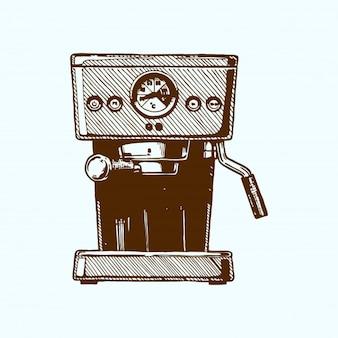 Kaffeemaschine mit Tasse