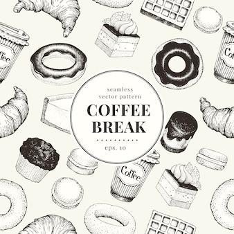 Kaffeepause muster