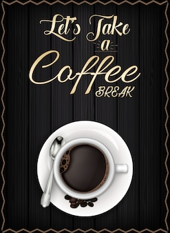 Kaffeepause poster