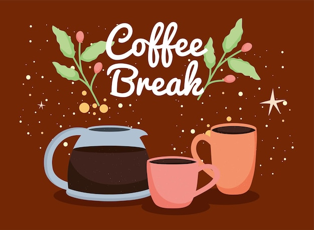 Kaffeepausen-etikett